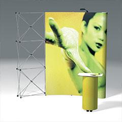 Concepteur de stand pliable - réalisation stand MX - Pubvolume